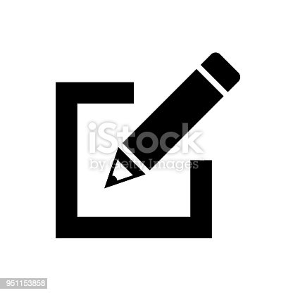 sign up Icon vector. Simple flat symbol. Perfect Black pictogram illustration on white background.