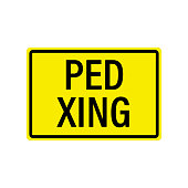 istock PED XING Sign 1212230548