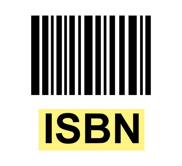 illustrazioni stock, clip art, cartoni animati e icone di tendenza di isbn sign with barcode - banchi scuola