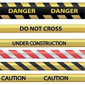 Signal warning tape