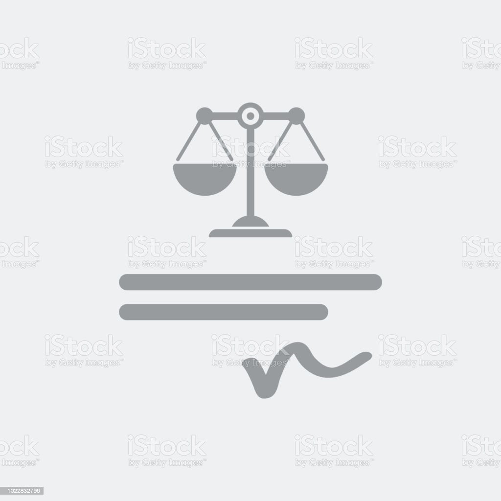 Signature Of The Document Legally Binding Stock Vector Art More - Legally binding document
