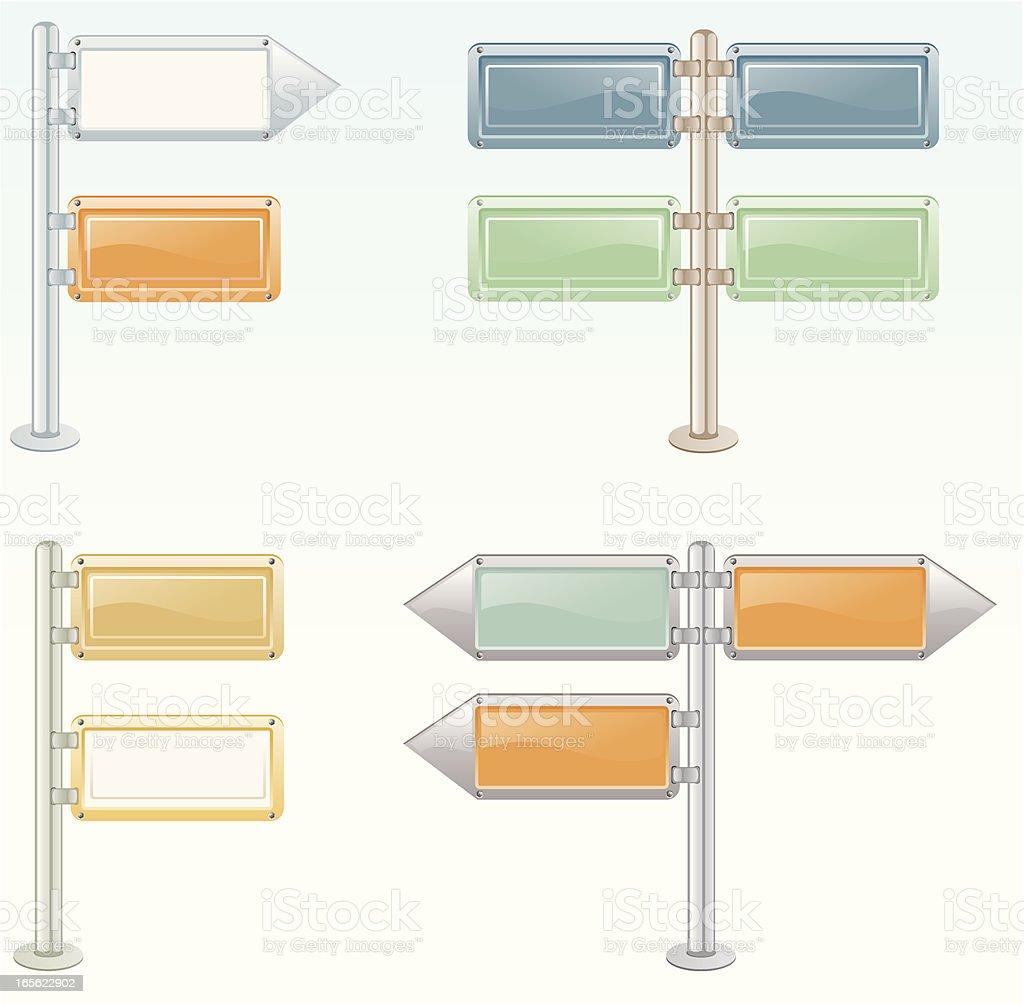 signpost royalty-free stock vector art