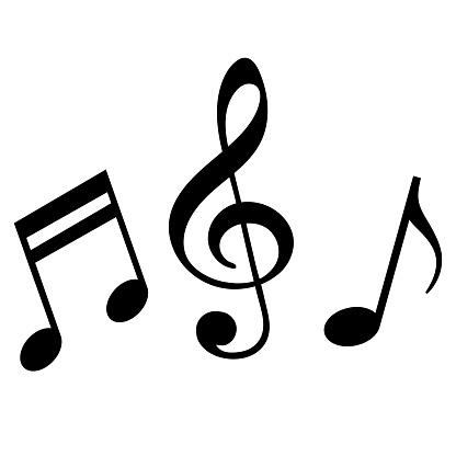 Signs Of A Musical Notation - Stockowe grafiki wektorowe i więcej obrazów Abstrakcja