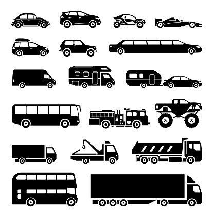 transportation modes stock illustrations