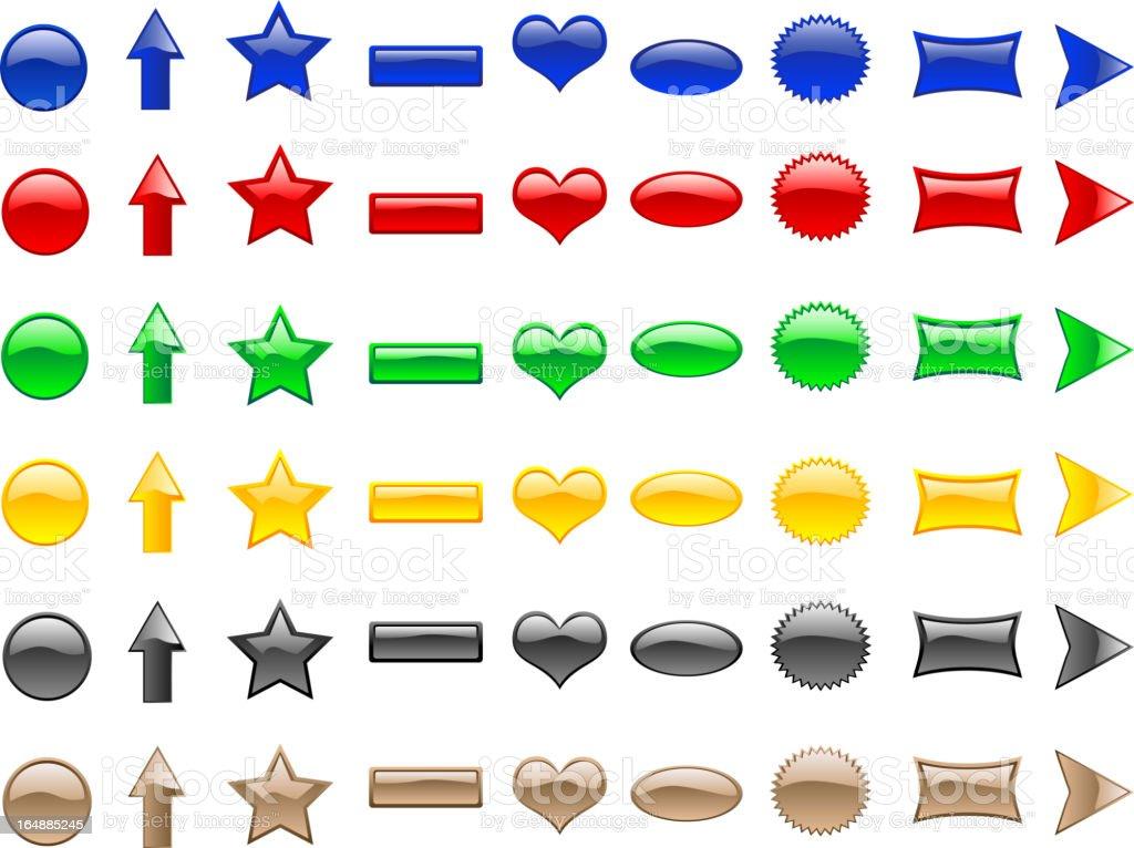 Signs & Symbols royalty-free stock vector art