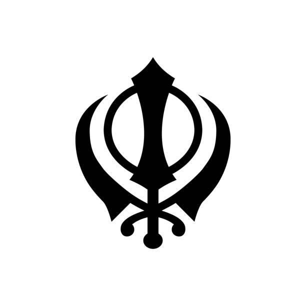 Royalty Free Khanda Clip Art Vector Images Illustrations Istock