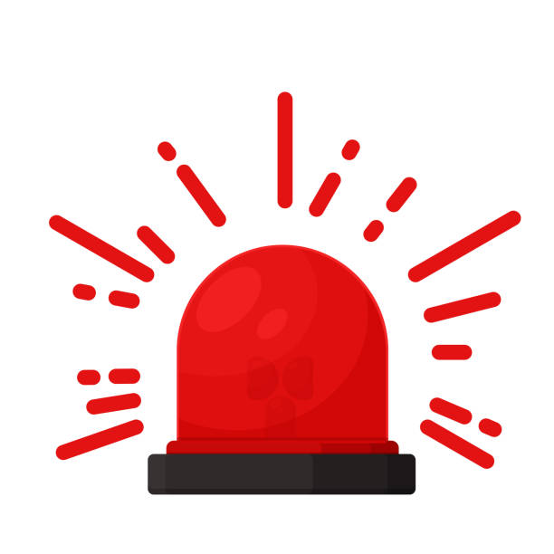 Silane alarm signal. Alert icon for danger from an accident. Silane alarm signal. Alert icon for danger from an accident. accidents and disasters stock illustrations