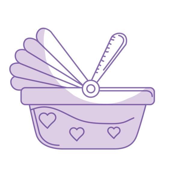 illustrations, cliparts, dessins animés et icônes de siège d'auto de bébé silhouette utilisé pour la protection - child car sleep