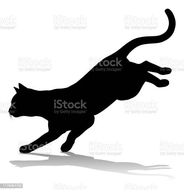 Silhouette cat pet animal vector id1175054702?b=1&k=6&m=1175054702&s=612x612&h=sanjx5l 9mlvile n3rrfxudjmwuyijxbk1vxo8badq=