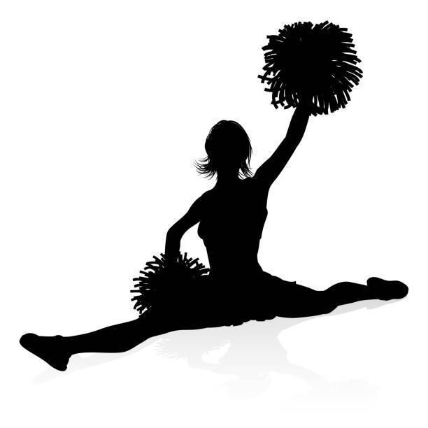 Maroon Cheer clipart MORE COLORS cheerleader clip art | Etsy