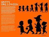 silhouette Halloween character
