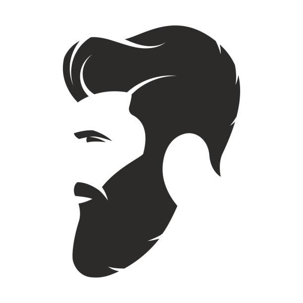 Royalty Free Man Bun Hair Clip Art Vector Images