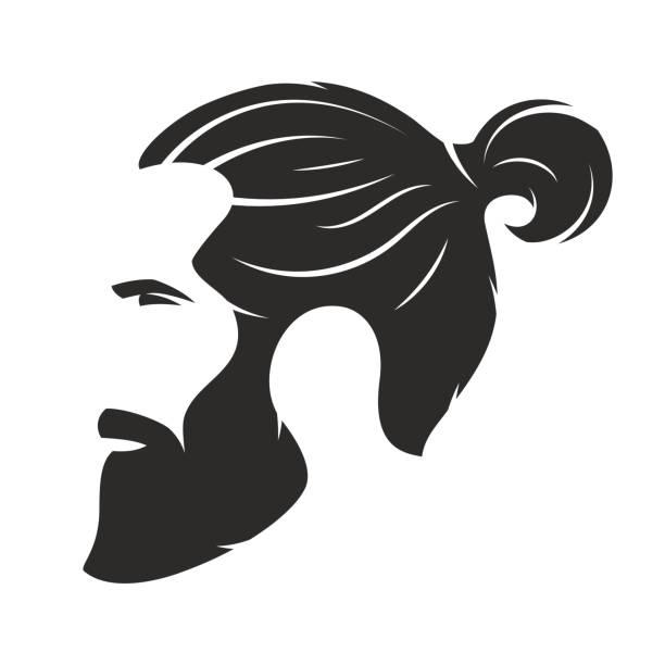 Royalty Free Top Bun Hair Clip Art Vector Images Illustrations