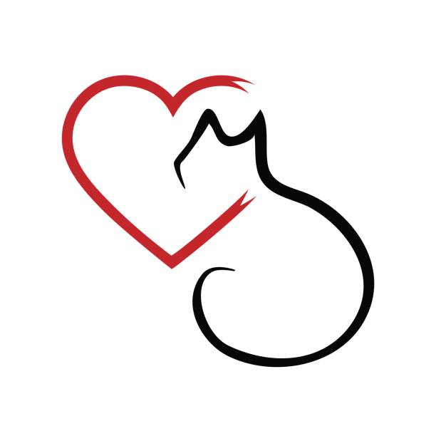 Royalty Free Red Cat Clip Art, Vector Images ...
