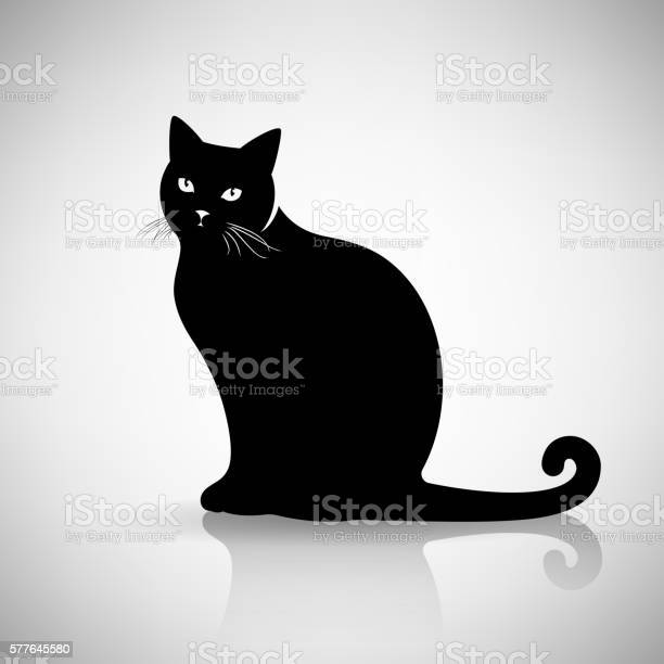 Silhouette of a cat sitting vector id577645580?b=1&k=6&m=577645580&s=612x612&h=oew56juvqsnv7l4oxd3ptwqmuqyeavygur9fuy5f19e=