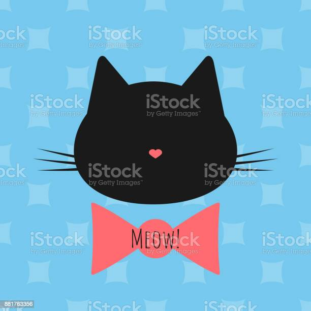 Silhouette of a cats head bow text meow seamless background vector id881763356?b=1&k=6&m=881763356&s=612x612&h=eycoiq3mcmt2awpq8emic15n1oy7dolv3pvl6dbqzdc=
