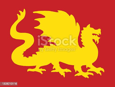 Silhouette of a Dragon