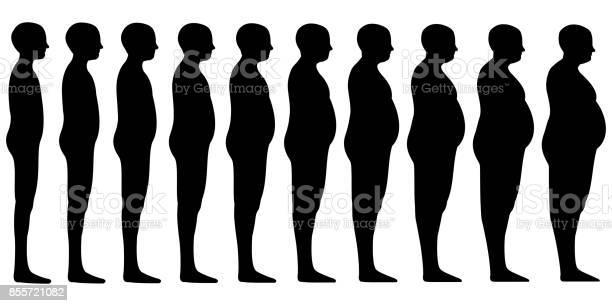 Silhouette of a human men set blend from thin to slim to thick fat vector id855721082?b=1&k=6&m=855721082&s=612x612&h=gwz7ro22yfxkaklu wzq6hj5wfpxr1ahoui5m4p15pc=