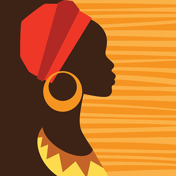 Femme Africaine Vectoriels Et Illustrations Libres De Droits