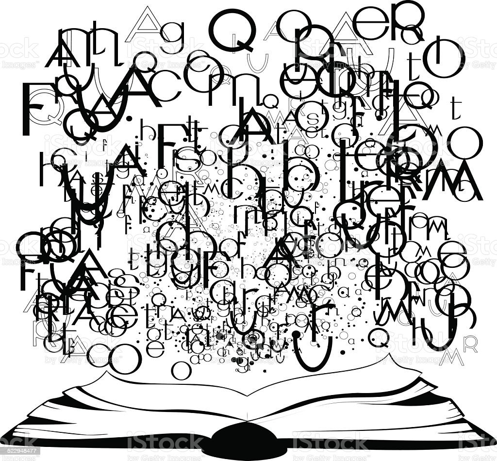 Resultado de imagem para letras voando