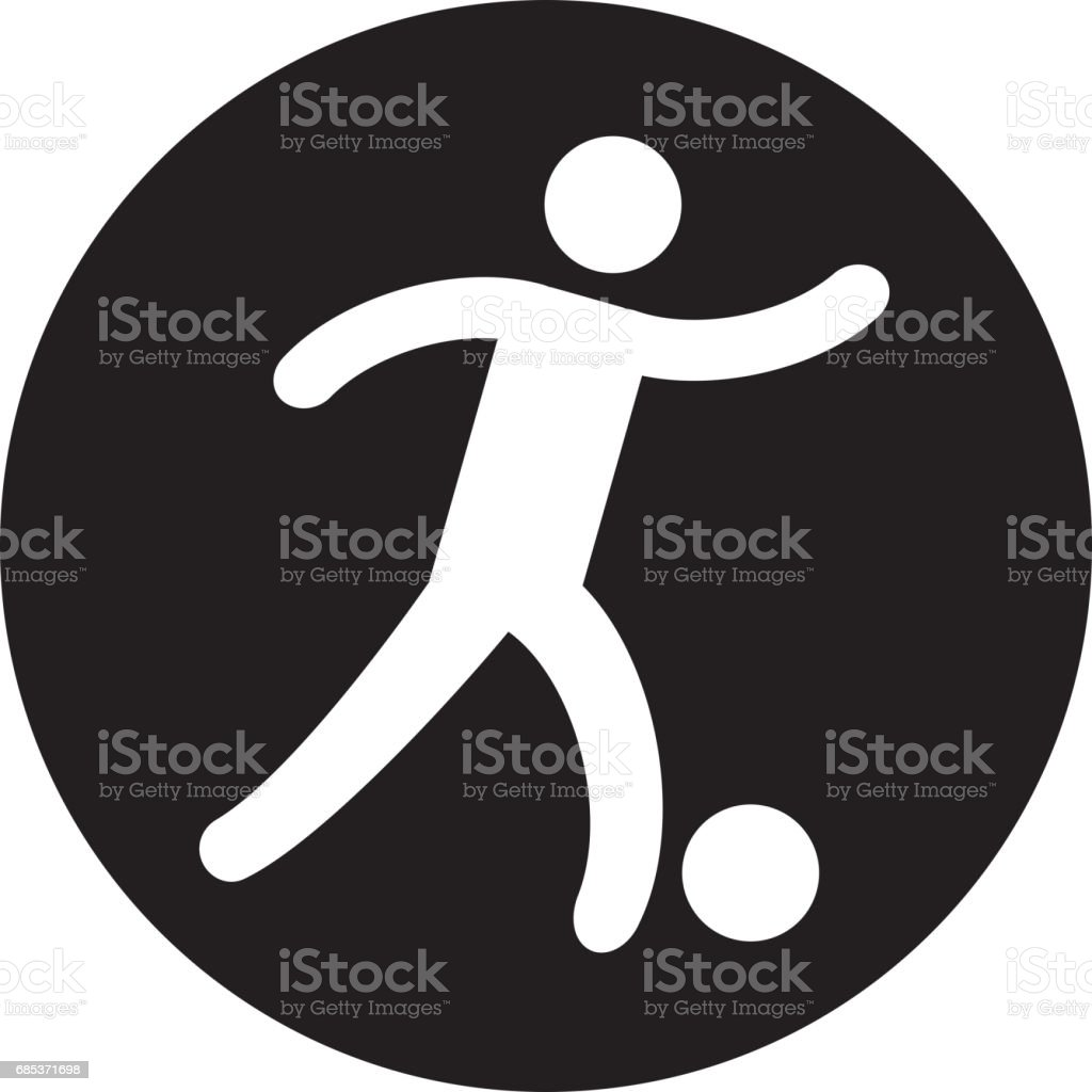Silhouette of athlete practicing football soccer silhouette of athlete practicing football soccer - arte vetorial de stock e mais imagens de adulto royalty-free