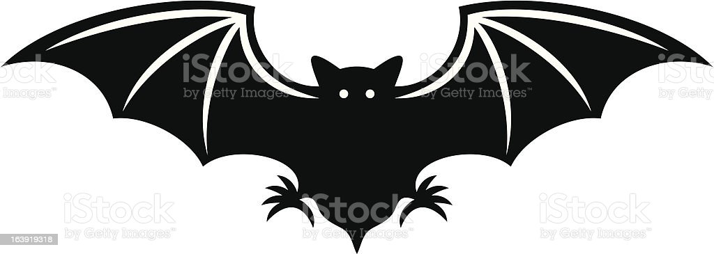silhouette of bat royalty-free silhouette of bat stock vector art & more images of animal