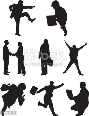 Silhouette Of Business Executiveshttp://www.twodozendesign.info/i/1.png