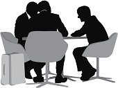 Silhouette of business people sittinghttp://www.twodozendesign.info/i/1.png