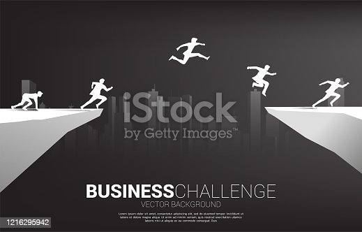 concept of business challenge risk.