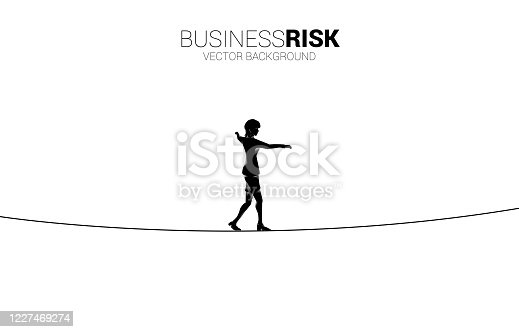 Concept for business risk and challenge in career path