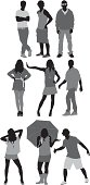 Silhouette of casual people in different poseshttp://www.twodozendesign.info/i/1.png