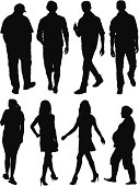 Silhouette of casual peoplehttp://www.twodozendesign.info/i/1.png