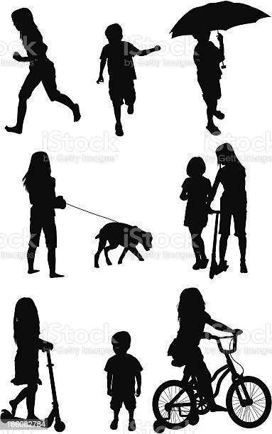 Silhouette of children in different poses vector id166082784?b=1&k=6&m=166082784&s=612x612&h=ifcaaqjzafzizpfe0tumslxotx2dnyyrafqt y5ksgk=