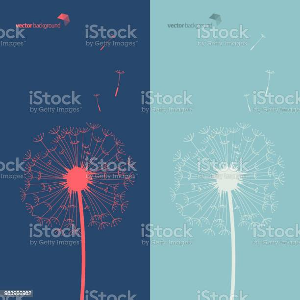 Silhouette of dandelion in blue and green color background vector id983966982?b=1&k=6&m=983966982&s=612x612&h=cprqzmpdxkhhg0mik qwuelhjfxvgzsmmu2 pns3gac=