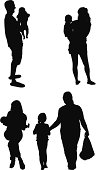 Silhouette of familieshttp://www.twodozendesign.info/i/1.png