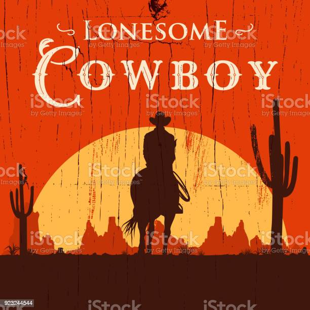 Silhouette of lonesome cowboy riding horse at sunset vector vector id923244544?b=1&k=6&m=923244544&s=612x612&h=ttfquuk0ccwegkkbzw 8d8ucurv8m18tqnqsn6uk8d4=