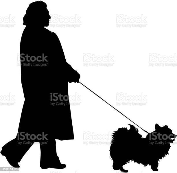 Silhouette of people and dog vector illustration vector id493154128?b=1&k=6&m=493154128&s=612x612&h=af8wxzfbre78jyweajikjcoo9 k99dh p9lstypt1we=