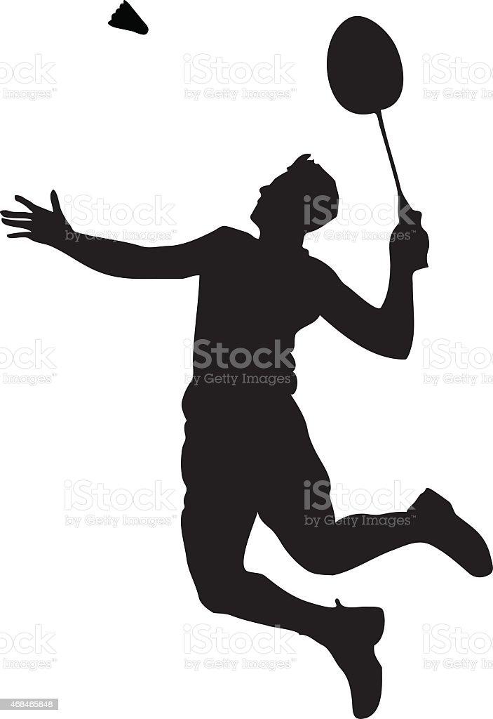 royalty free badminton clip art vector images illustrations istock rh istockphoto com badminton clipart png badminton clipart black and white