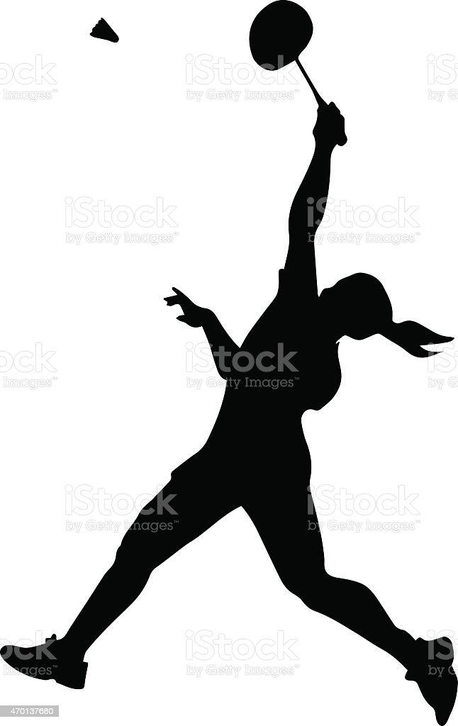 シルエットの女性バドミントン選手 15年のベクターアート素材や画像を多数ご用意 Istock