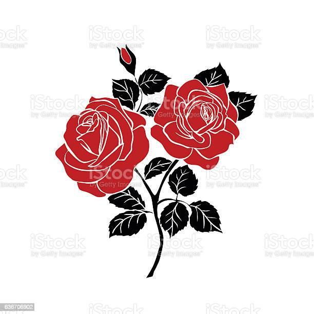 Silhouette of rose vector id636706902?b=1&k=6&m=636706902&s=612x612&h=aacekpe7mn azspsg llnh1pntrx0hpmywtt6ixn104=
