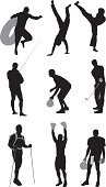 Silhouette of sports peoplehttp://www.twodozendesign.info/i/1.png