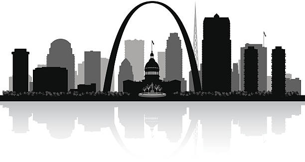 Best St Louis Skyline Illustrations, Royalty-Free Vector ...