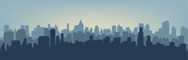 ilustraciones, imágenes clip art, dibujos animados e iconos de stock de silueta de la ciudad  - ciudad