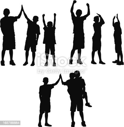 Silhouette of three boys playinghttp://www.twodozendesign.info/i/1.png