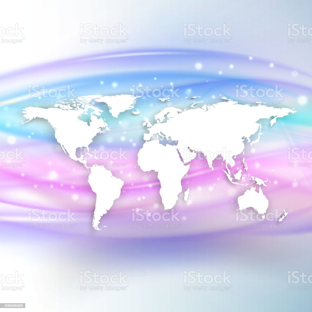 Silhouette of white world map with shadow on beautiful wave stock silhouette of white world map with shadow on beautiful wave royalty free silhouette of white gumiabroncs Image collections