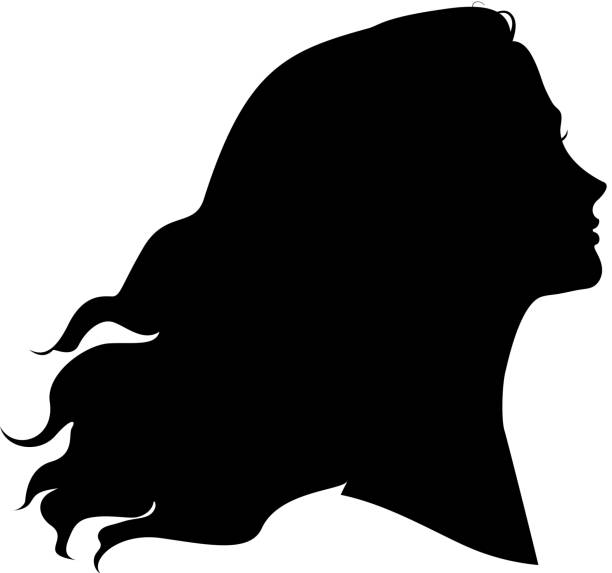 silhouette of woman - young women stock illustrations