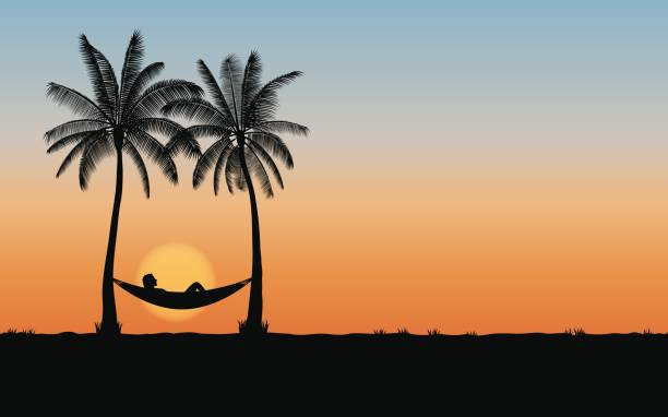 6373e1eb7ad3 Best Sunset Beach Illustrations, Royalty-Free Vector Graphics & Clip ...