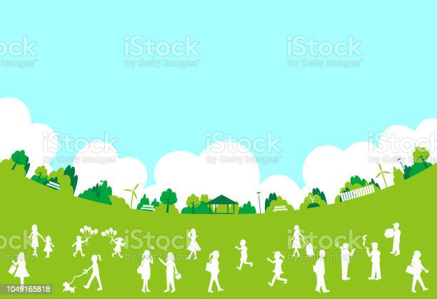 Silhouette people life style concept in various location vector id1049165818?b=1&k=6&m=1049165818&s=612x612&h=3hkgw3qugzyyq3xflkznmnmix0ljgc9wxrs8fxyf5fu=