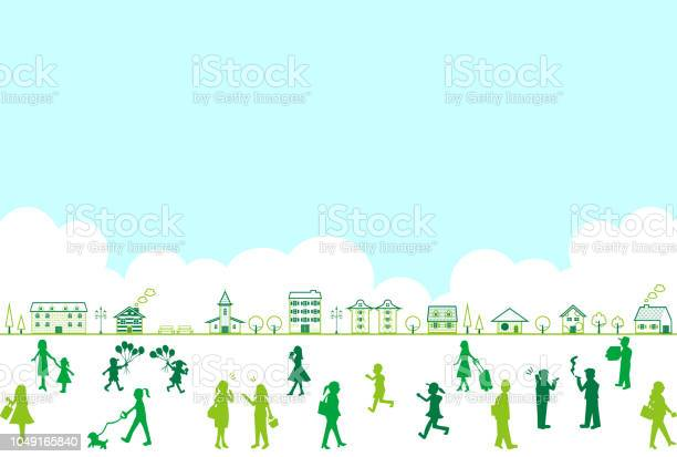 Silhouette people life style concept in various location vector id1049165840?b=1&k=6&m=1049165840&s=612x612&h=mxvdysjkidnewpkoacqldppvrckj34u3llmibh4hfxk=