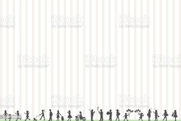 Silhouette people life style concept in various location vector id1049165892?b=1&k=6&m=1049165892&s=612x612&h=pjpw4phoxpxex lfttpsxkd8diojftjc dw9pfgvpyc=